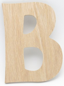 Oak Wood Letters . Discount Wood Letters